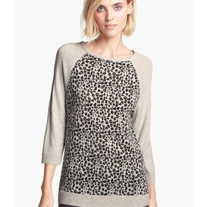 Autumn Cashmere Leopard Sweater
